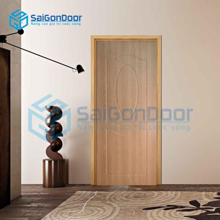 Mẫu cửa nhựa phòng khách cao cấp cách âm SYB.243-B02