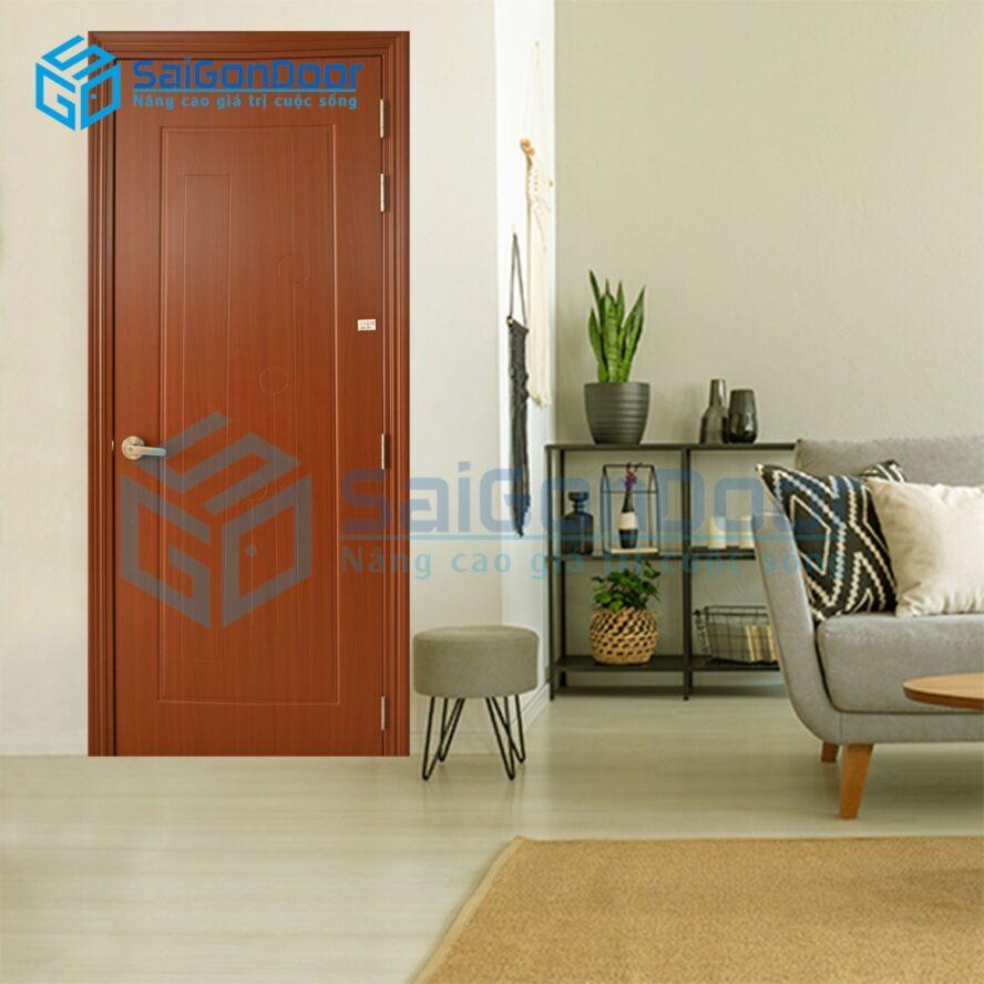 Cửa nhựa phòng khách Composite SYB.551-B07